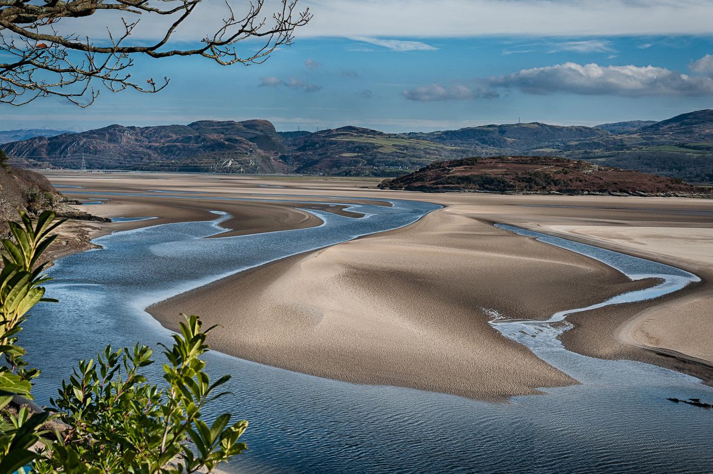 estuary of the River Dwyryd, Portmeirion, Wales, landscape